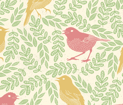 SPRING_PATTERN_19 fabric by one_proud_grandma on Spoonflower - custom fabric