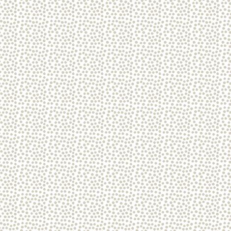 "4"" Dark Tan Polka Dots fabric by shopcabin on Spoonflower - custom fabric"