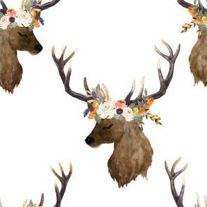 """8"""" Sienna Deer - White"""