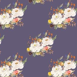 "4"" Sienna Florals - Muted Lilac"