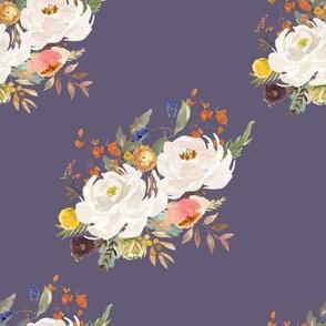 "8"" Sienna Florals - Muted Lilac"