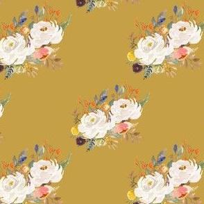 "4"" Sienna Florals - September Yellow"