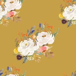 "8"" Sienna Florals - September Yellow"