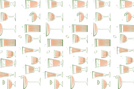 retrobarcart fabric by emily_schramm on Spoonflower - custom fabric