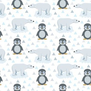 bears and penguins pattern