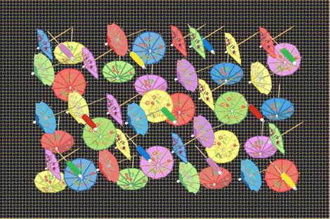 retroteatowel fabric by notbrownplaid on Spoonflower - custom fabric