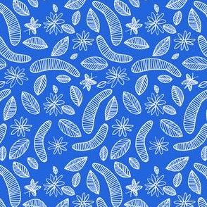 Bookworm Blue