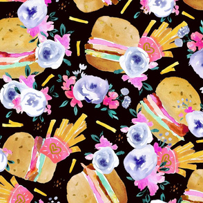 burgers and flowers-black-lg