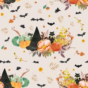 """8"""" Halloween Bouquet - Tan"""