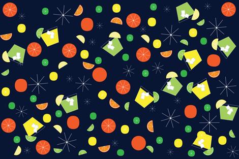 citrus cooler fabric by ecs-designs on Spoonflower - custom fabric