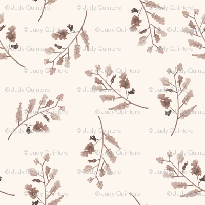 """4"""" Fall Branches - Ivory"""