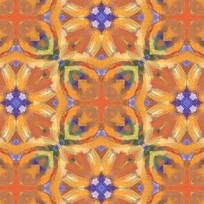 Orange Blue Green Design  | Artistic Texture