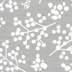 Farmhouse Twigs - Gray & White