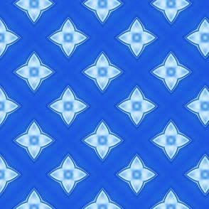 Glassy Blue Design