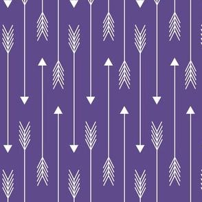 Skinny Arrows - Ultra Violet, Ginger Lous