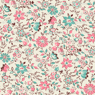 Sweet French Floral 161 from 1920's