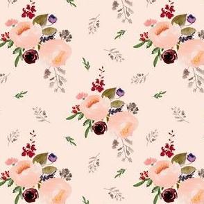 """4"""" Floral Trail Bouquet - Sorbet"""