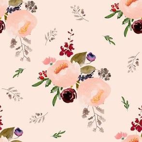 """8"""" Floral Trail Bouquet - Sorbet"""