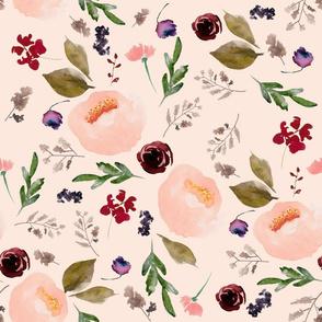 "18"" Trail Florals - Sorbet"