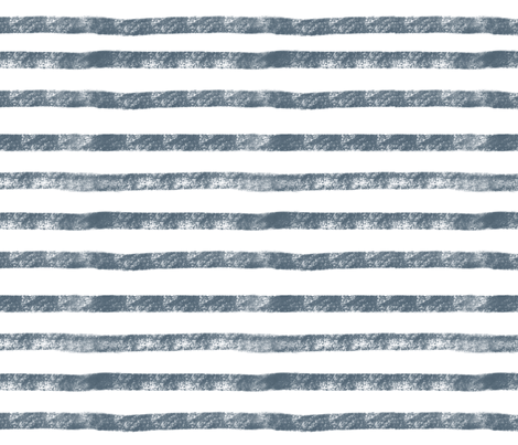 Navy Stripes  fabric by smallhoursshop on Spoonflower - custom fabric