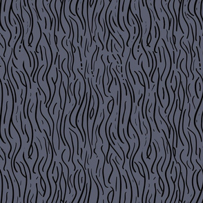 MidCentury WoodGrain Matte Blue