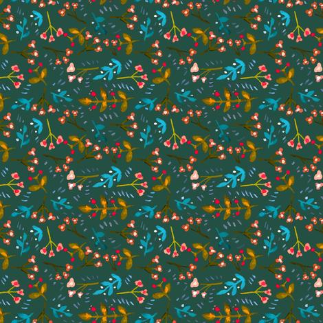001 flower b fabric by potyautas on Spoonflower - custom fabric