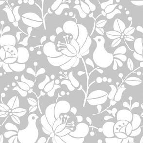 Kalocsai light grey