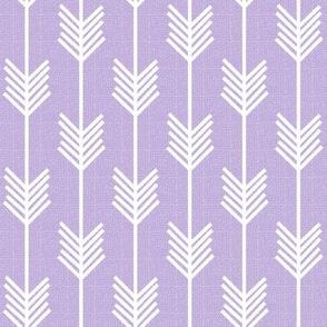 Arrow Stripe - Lilac textured