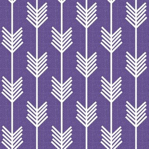 Arrow Stripe - Ultra Violet textured