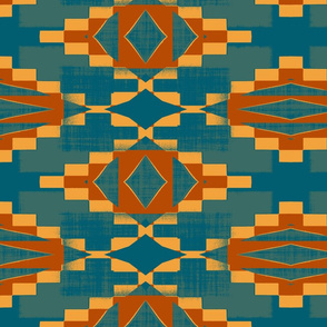 Cherokee Blanket Desert Colors