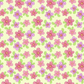 Purty Posies - Yellow