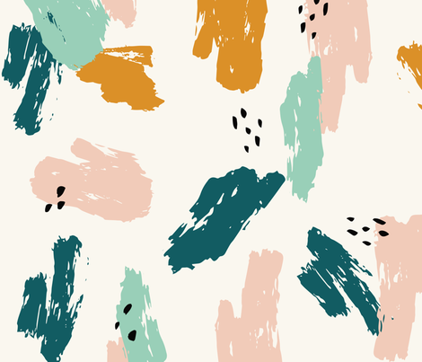Abstract Brush Stroke fabric by acdesign on Spoonflower - custom fabric