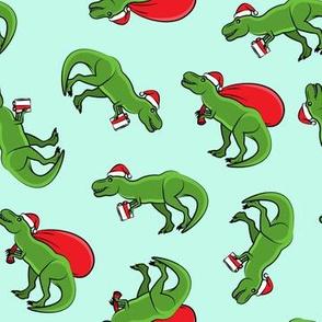 Christmas Trex - toss on light mint