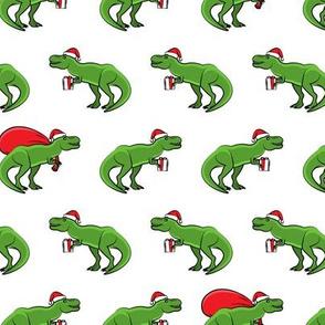 Christmas Trex - dinosaur