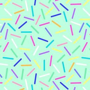 Bright Mint Sprinkles