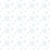 Bluebird Cluster White