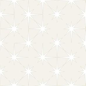 starburst in natural taupe tones