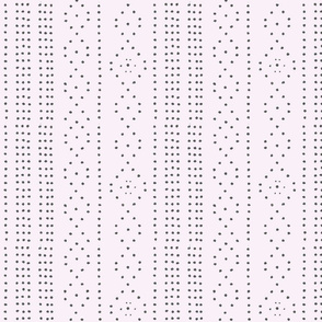 Dot Pattern Wallpaper Cream