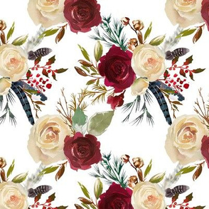 Christmas Berry Florals