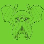 Cthulhu leech, green version