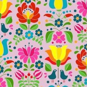 hungarian motif rose
