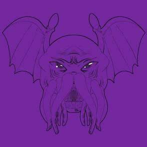 Cthulhu leech, eldritch purple version