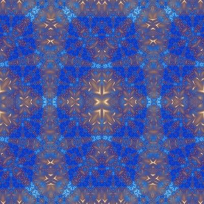 Blue and Brown Fractal