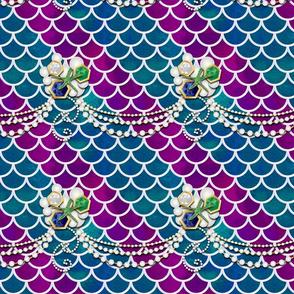 Mediterranean Mermaid with Jewels
