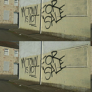 My town is not for Sale