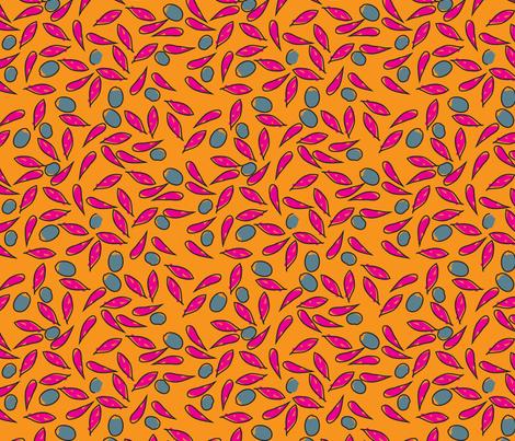 FreeFlowerPed2 fabric by choffman on Spoonflower - custom fabric