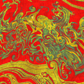 marbling-silk dragon