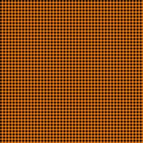 Small Orange Buffalo Plaid