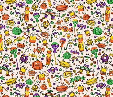 Orange_black_white_halloween_monster_robots_seaml_stock_v2__shop_preview
