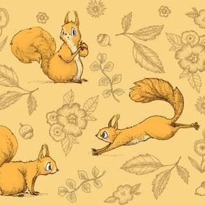 Squirrel! (Orange)